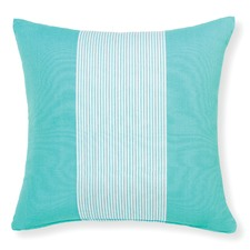 Aqua Hamptons Cushion With Insert