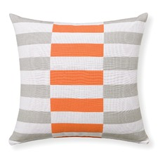 Orange Waverly Cushion With Insert