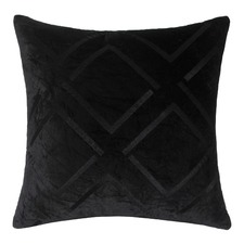 Empire Black Cushion