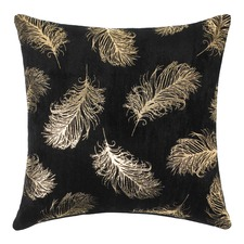 Luma Black & Gold Cushion