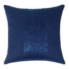 Shitake Indigo Cushion