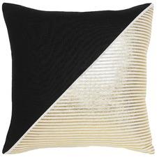 Couta Black Cotton Cushion