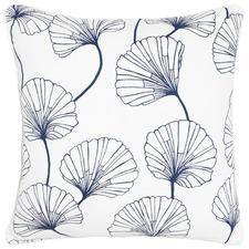Eloise Navy Cotton Cushion
