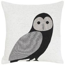 Hedwig Black Cushion