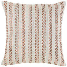 Jessie Orange Cotton Cushion