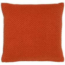 Kiosk Burnt Orange Cotton Cushion