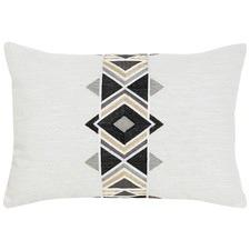 Maya Black Cotton Cushion