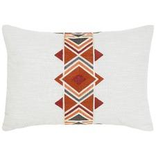Maya Orange Cotton Cushion