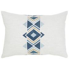 Maya Peacock Cotton Cushion