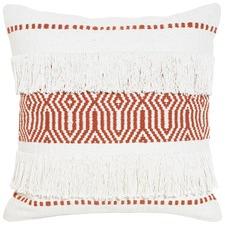 Nova Orange Cotton Cushion