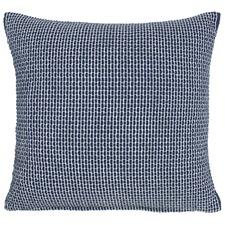 Tube Navy Cotton Cushion