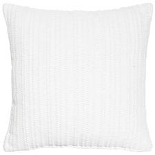 Trez White Cotton Cushion