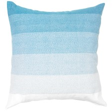 Cerulean Haze Cotton Cushion