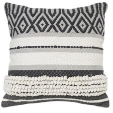 Graphite Tahoma Cotton Cushion
