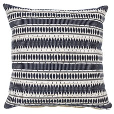 Navy Tori Cotton & Linen Cushion