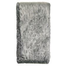 Silver Aspen Faux Fur Blanket
