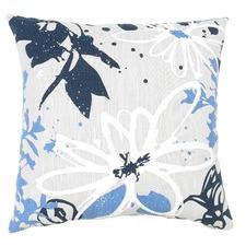 Navy Olivia Cotton Cushion