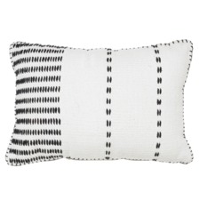 Black Ludo Cotton Cushion