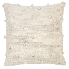 Natural Magaly Bobble Cushion