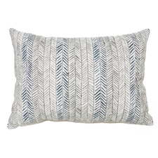 Navy Dalir Cotton Cushion