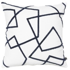 Navy Mamba Cotton Cushion