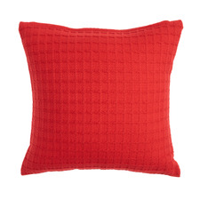 Woven Basket Cotton Cushion