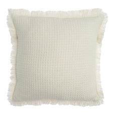 Fringed Fray Cotton Cushion