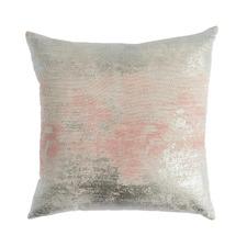 Foil Printed Mist Cotton Cushion