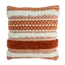 Woven Stripe Pebble Cushion