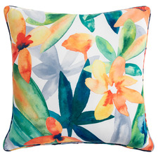 Multi-Coloured Botanical Puerto Outdoor Cushion