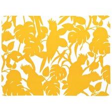 Cockatoos Yellow Placemat (Set of 4)