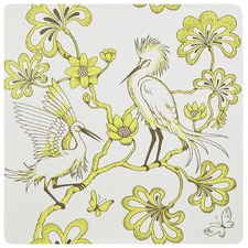 Egrets Yellow Placemat (Set of 4)