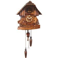 8 Day Horses Cuckoo Clock