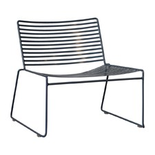 Broad Club Wire Outdoor Lounge Chair