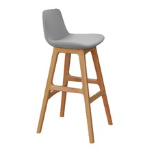 Parker Wooden & Fabric Counter Stool