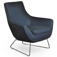 Leo Chrome Lounge Chair