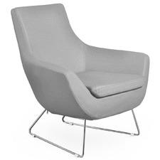 Leo Chrome Lounge Chair