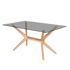 Beech Kobe Rectangle Dining Table