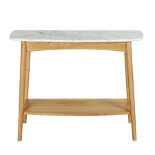 Oak Nara Console Table