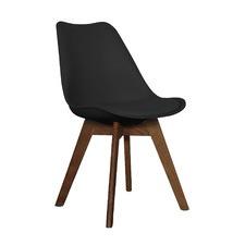 Walnut & Black Jaden Dining Chair