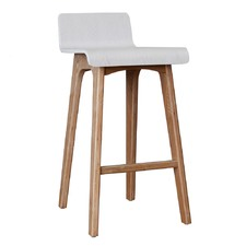Ede Plywood Low Back Barstool