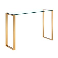 Brass Adele Console Table