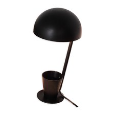 Black Chute Table Lamp