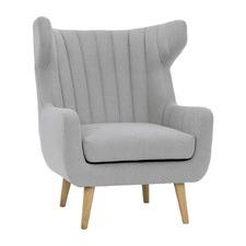Light Grey Glove Arm Chair