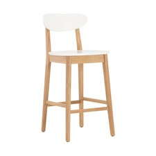 Henry Oak Counter Stool