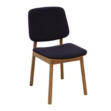 Oak & Charcoal WhyWood Chair