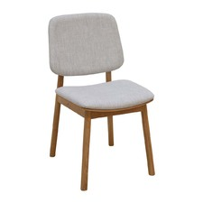 Oak & Light Grey WhyWood Chair