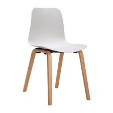 White Chen Zhiyi Net Dining Chair