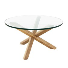 Alyssa Oak Coffee Table
