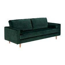 Marion Emerald 3 Seater Velvet Sofa